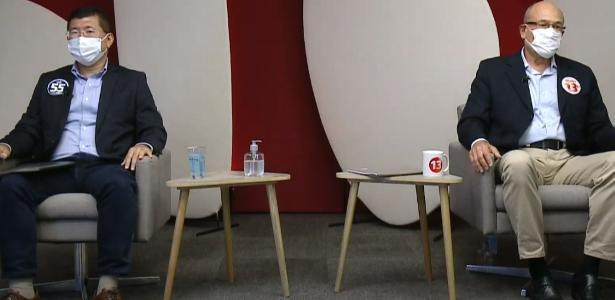 'Inexperiente', 'incompetente'... | Candidatos à Prefeitura de Diadema trocam farpas em debate