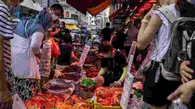 Os especialistas da OMS recomendam pesquisas em outros mercados da região - Getty Images - Getty Images