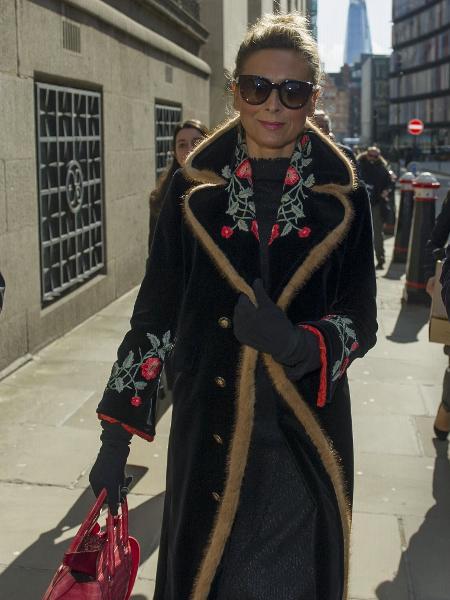 Tatiana Akhmedova, ex-mulher do magnata Farkhad Akhmedov - David Mirzoeff/PA Images via Getty Images