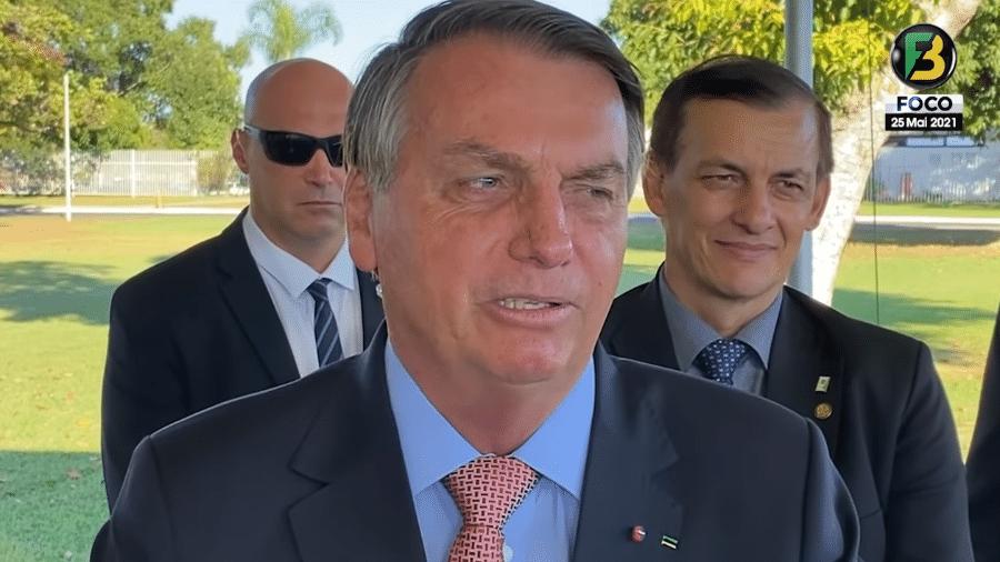 Bolsonaro disse que aceitaria uma candidatura se o partido fosse dele - Reprodução/Foco do Brasil