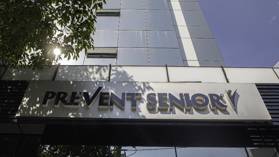 28.set.2021 - Fachada de prédio da Prevent Senior na região do Paraíso, na zona sul de São Paulo - Bruno Rocha/Enquadrar/Estadão Conteúdo