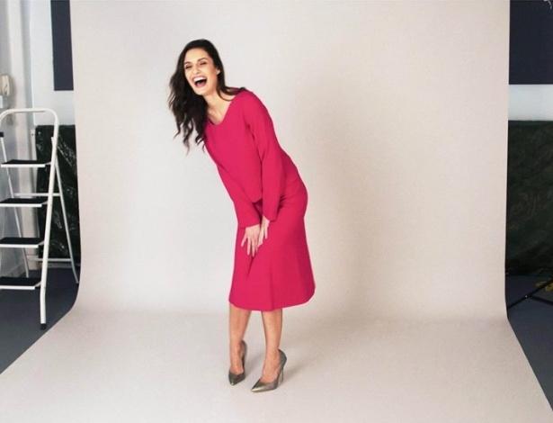 Modelo em sessão de fotos da marca de moda britânica Rose & Willard - Reprodução/Facebook