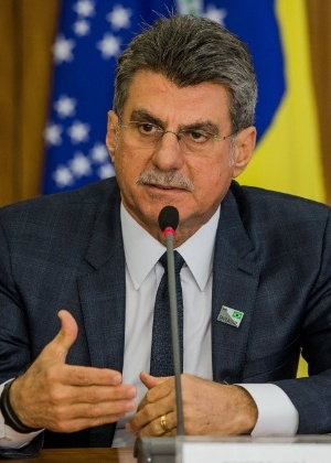 O ministro do Plabnejamento, Romero Jucá