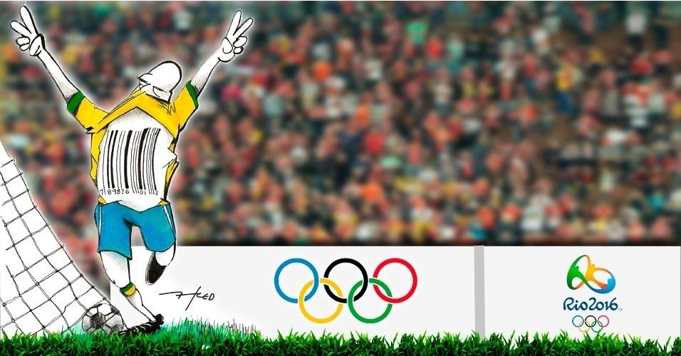 9.ago.2016 - O jogo pode trazer anúncios, mas a torcida quer saber onde estão os gols