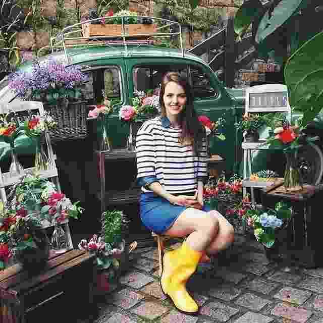 Florista viajante - Divulgação