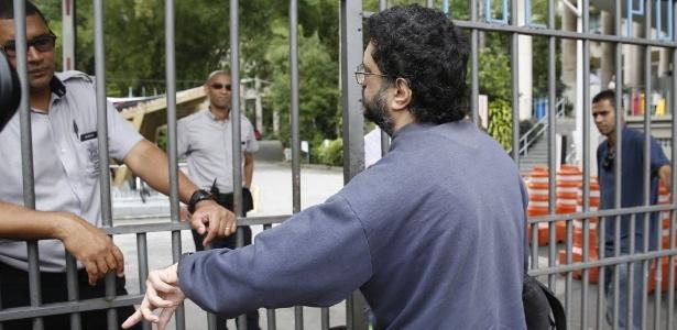 Carlos Humberto Gonçalves, 35, foi o único candidato do Enem a chegar atrasado na PUC-Rio