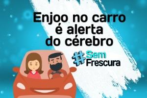 #SemFrescura: você já enjoou ao andar de carro? É seu cérebro dando pane (Foto: Arte/ UOL)