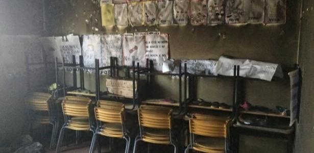 Incêndio em creche matou sete crianças e uma professora
