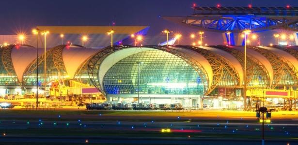Aeroporto de Bancoc, na Tailândia