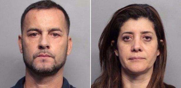 Eduardo Pereira e Marcia Tiago foram detidos pela polícia em Miami