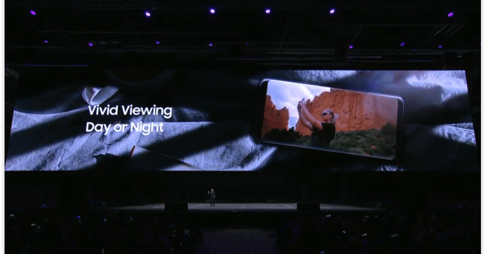 A Samsung promete uma maior qualidade de imagem e de som ao assistir vídeos nos novos S9 e S9 Plus.
