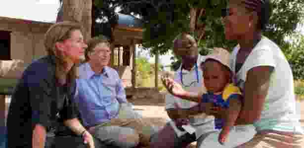 Bill e Melinda Gates - Divulgação - Divulgação