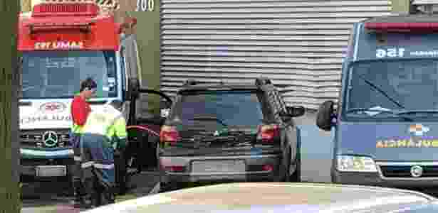 Funcionários usaram carro da prefeitura para transportar combustível - Reprodução