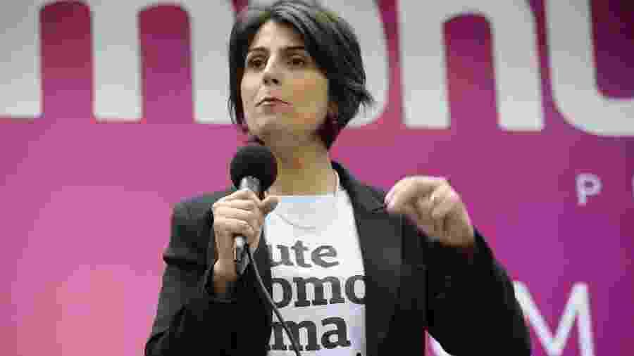 """Manuela D""""Ávila disputa as eleições municipais pela Prefeitura de Porto Alegre - Fátima Meira/FuturaPress/Estadão Conteúdo"""