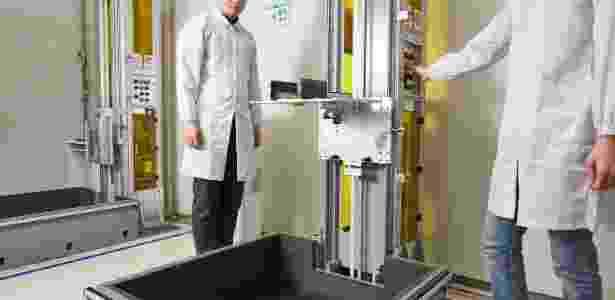 Teste de resistência ocorre em diferentes alturas - Divulgação - Divulgação