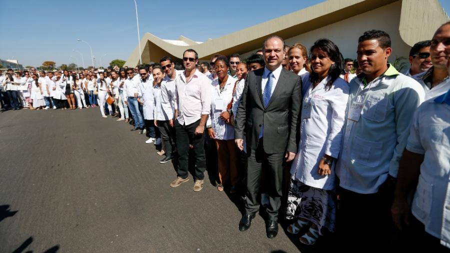Arquivo - Evento recebe  médicos brasileiros formados no exterior e cubanos que vão atuar no Programa Mais Médicos - Pedro Ladeira/ Folhapress