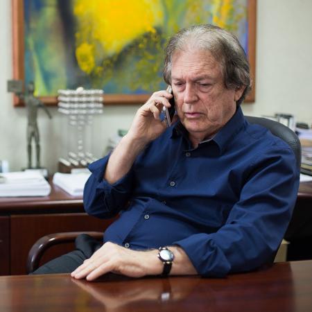 O presidente do PSL, deputado federal Luciano Bivar - Clara Gouvêa/UOL