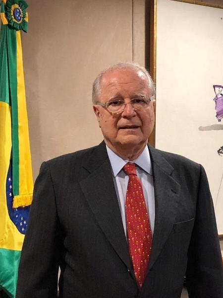 21.mar.2019 - Sergio Amaral dá entrevista na embaixada do Brasil em Washington - Luciana Amaral/UOL