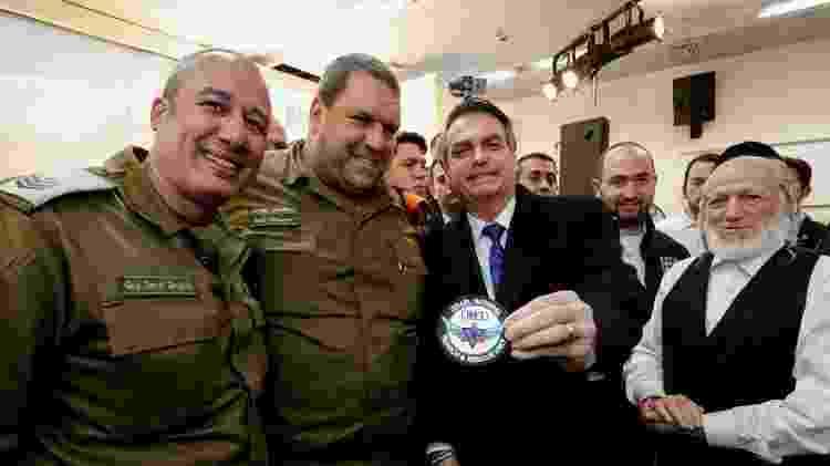 1.abr.19 - A cerimônia aconteceu em Tel Aviv  - Alan Santos/PR - Alan Santos/PR