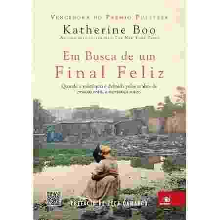 Em Busca De Um Final Feliz, por Katherine Boo - Reprodução/Amazon - Reprodução/Amazon
