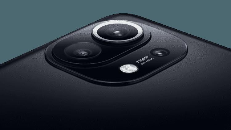 Câmera Mi 11, da Xiaomi - Divulgação - Divulgação