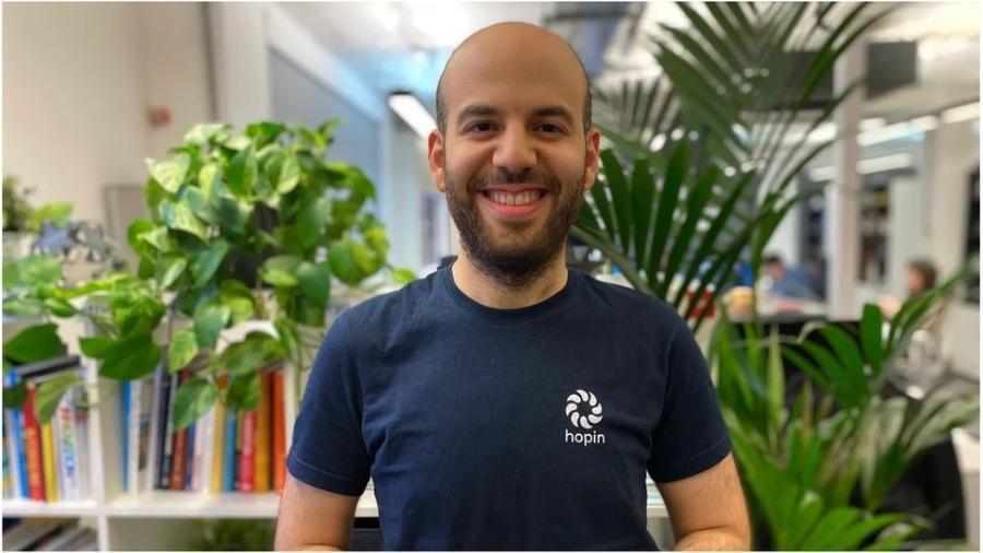Johnny Boufarhat criou plataforma de eventos online em 2018 quando estava acamado com doença autoimune; sua fortuna pessoal é estimada em R$ 11 bilhões - Hopin