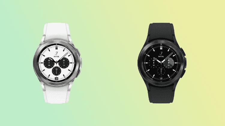 Supostas imagens do Galaxy Watch 4, da Samsung, obtidas pelo site Sam Mobile - Reprodução/Sam Mobile - Reprodução/Sam Mobile