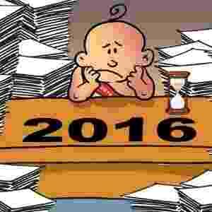 5.jan.2016 - 2016 mal começou e já está cheio de trabalho - Casso/UOL
