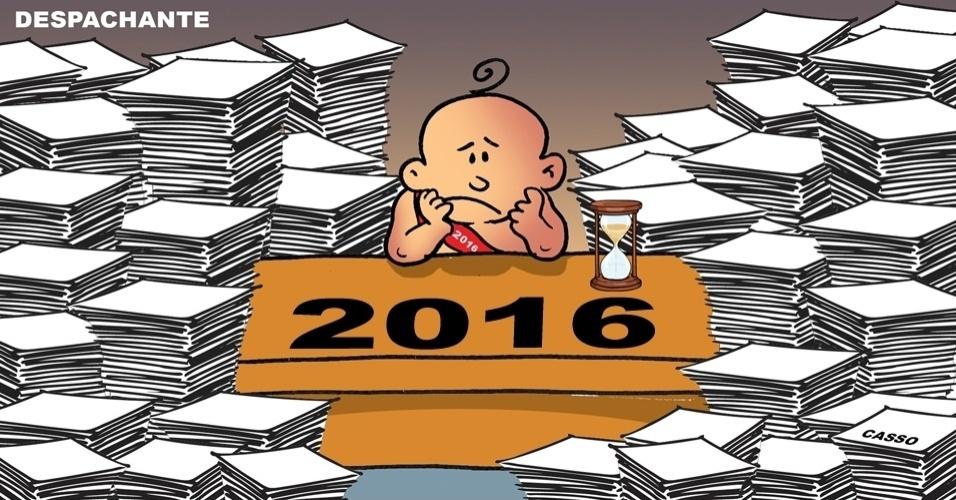 5.jan.2016 - 2016 mal começou e já está cheio de trabalho
