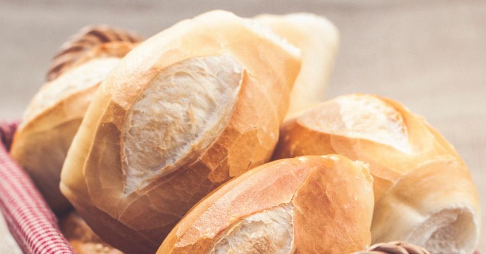 Pão francês da padaria móvel Sagrado Boulangerie