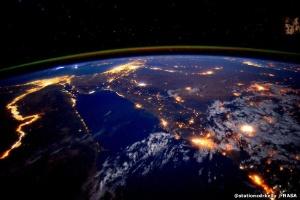 Viagens turísticas ao espaço podem estar a meses de distância (Foto: @Stationcdrkelly/Nasa)
