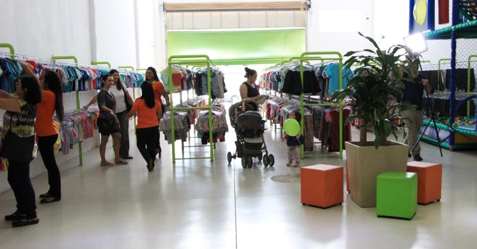 Loja da KG Moda Infantil por Kilo que vende roupa por quilo