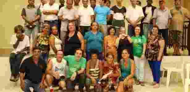 Grupo de filhos de pacientes que foram separados dos pais, pacientes de hanseníase - Arquivo pessoal - Arquivo pessoal