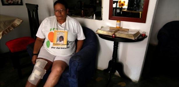 Rubiela Tejada continua em busca de seu filho John Alexander, desaparecido em 2002