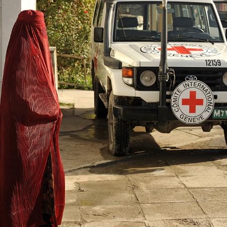 Comité Internacional da Cruz Vermelha, em Cabul - Shah Marai/AFP