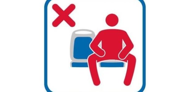 """Madri quer que homens """"fechem a perna"""" no transporte público"""