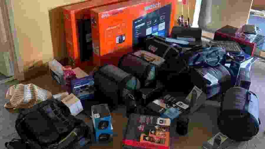 Presentes de Natal para crianças de orfanato foram roubados nos EUA - Divulgação/Red Bluff Police Department