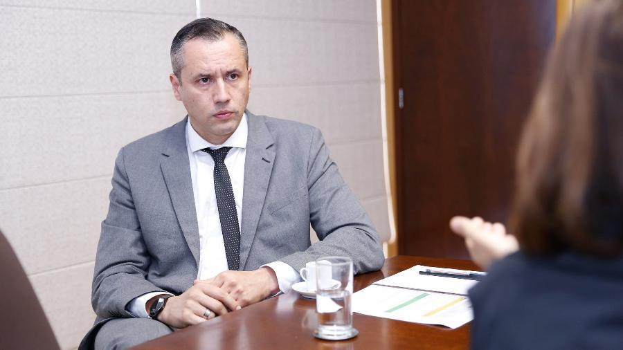 Roberto Alvim, secretário especial da Cultura do governo Bolsonaro - Clara Angeleas/Divulgação/Secretaria Especial da Cultura
