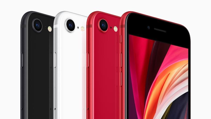 Nova geração do iPhone SE, lançado pela Apple em 2020 - Divulgação/Apple