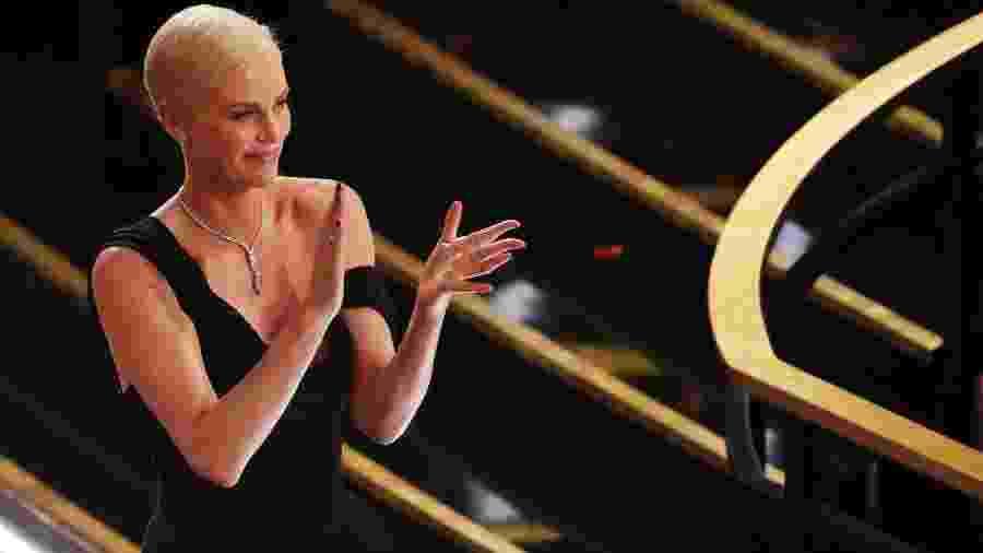 A iniciativa #TogetherForHer(#JuntasPorEla, em tradução livre) foi lançada pela atriz vencedora do Oscar em abril - MARIO ANZUONI