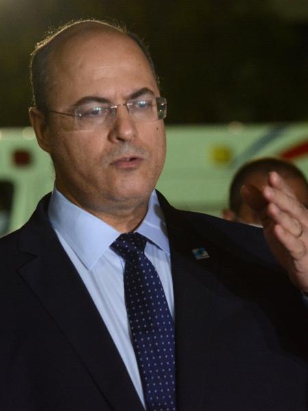O governador do Rio, Wilson Witzel (PSC) - Jorge Hely/Framephoto/Estadão Conteúdo