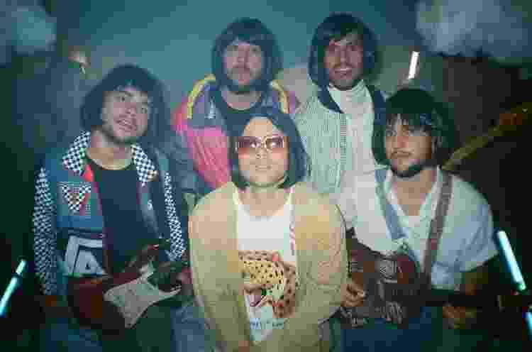 A banda Lagum, que foi indicada a Grupo do Ano no Prêmio Multishow - Divulgação - Divulgação