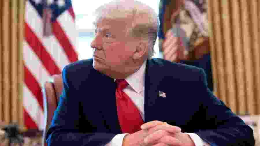 """Para analista, Trump deu um passo """"além da sua linha usual"""" de ataques à ciência - AFP"""
