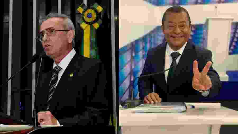 Cícero Lucena (PP) registrou 18%, e Nilvan Ferreira (MDB), 15%, na 1ª pesquisa Ibope em João Pessoa - Waldemir Barreto/Agência Senado e Reprodução/Instagram