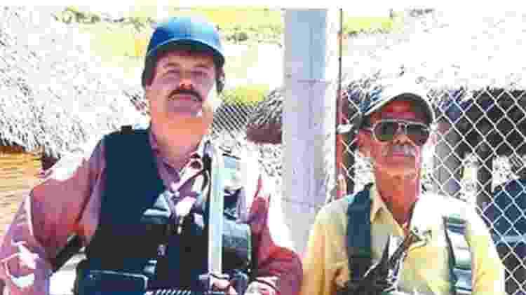 Joaquín Guzmán 'el Chapo' Guzmán nasceu na mesma região que Quintero - Governo dos EUA - Governo dos EUA