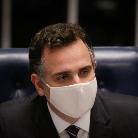 Arquivo -  presidente do Senado, Rodrigo Pacheco (DEM-MG), concordou em pautar o projeto, apesar de não haver acordo com o governo - Dida Sampaio/Estadão Conteúdo