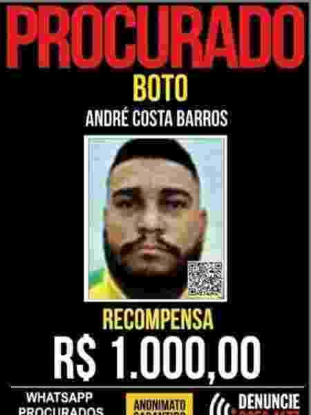 boto - Divulgação/Polícia Civil - Divulgação/Polícia Civil