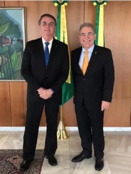 Ricardo Lewandowski dá 5 dias para Bolsonaro e Queiroga se manifestarem sobre cronograma de vacinas - Divulgação