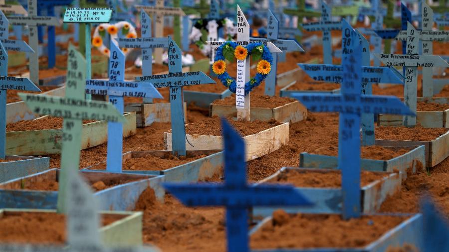 É a 3ª vez que o Brasil ocupa o topo do ranking de mortes na pandemia; as duas primeiras duraram quase dois meses - Bruno Kelly/Reuters