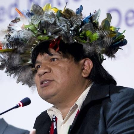 O líder indígena Almir Suruí - Kanindé Associação/internet